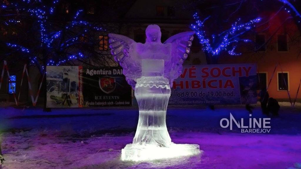 Ľadové sochy 2016