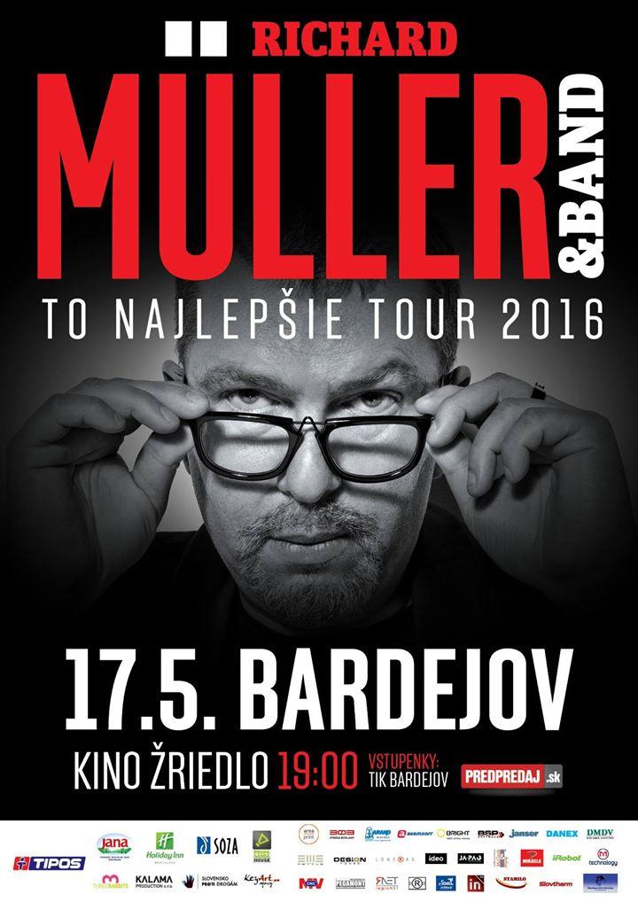 Richard Müller & Band – To najlepšie tour 2016