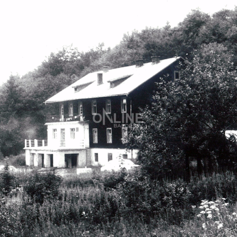 Čerhovská chata - dobová fotografia