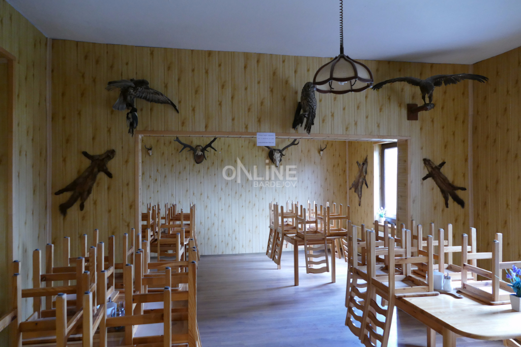 Čergovská chata  - interér