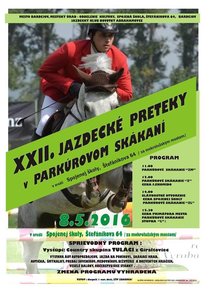 XXII Jazdecké preteky v parkúrovom skákaní