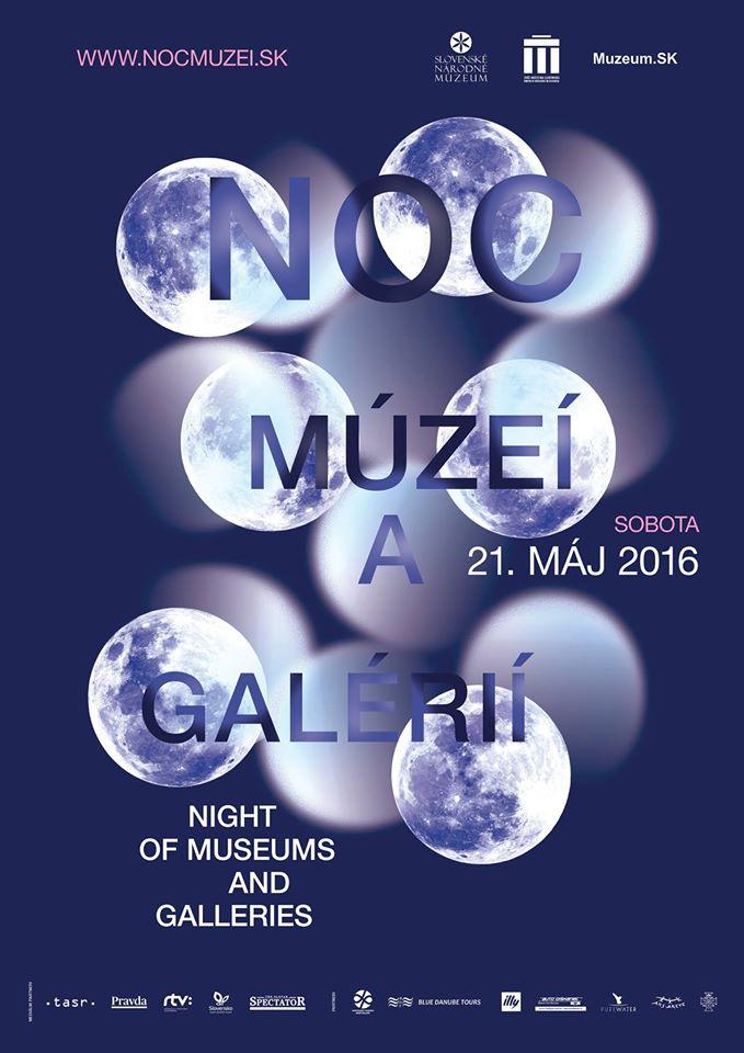 Noc múzeí a galérií 2016