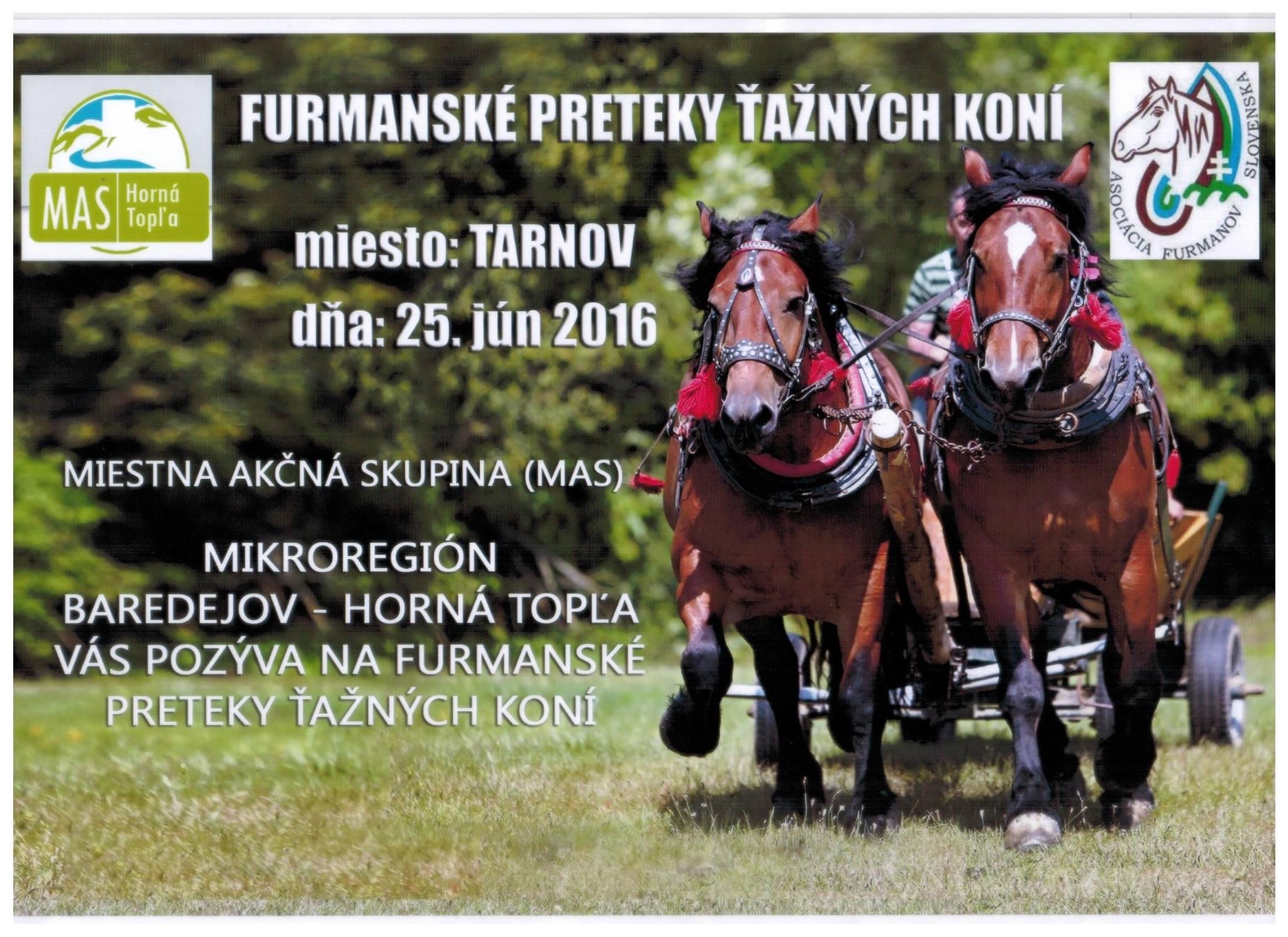 Furmanské preteky ťažných koní