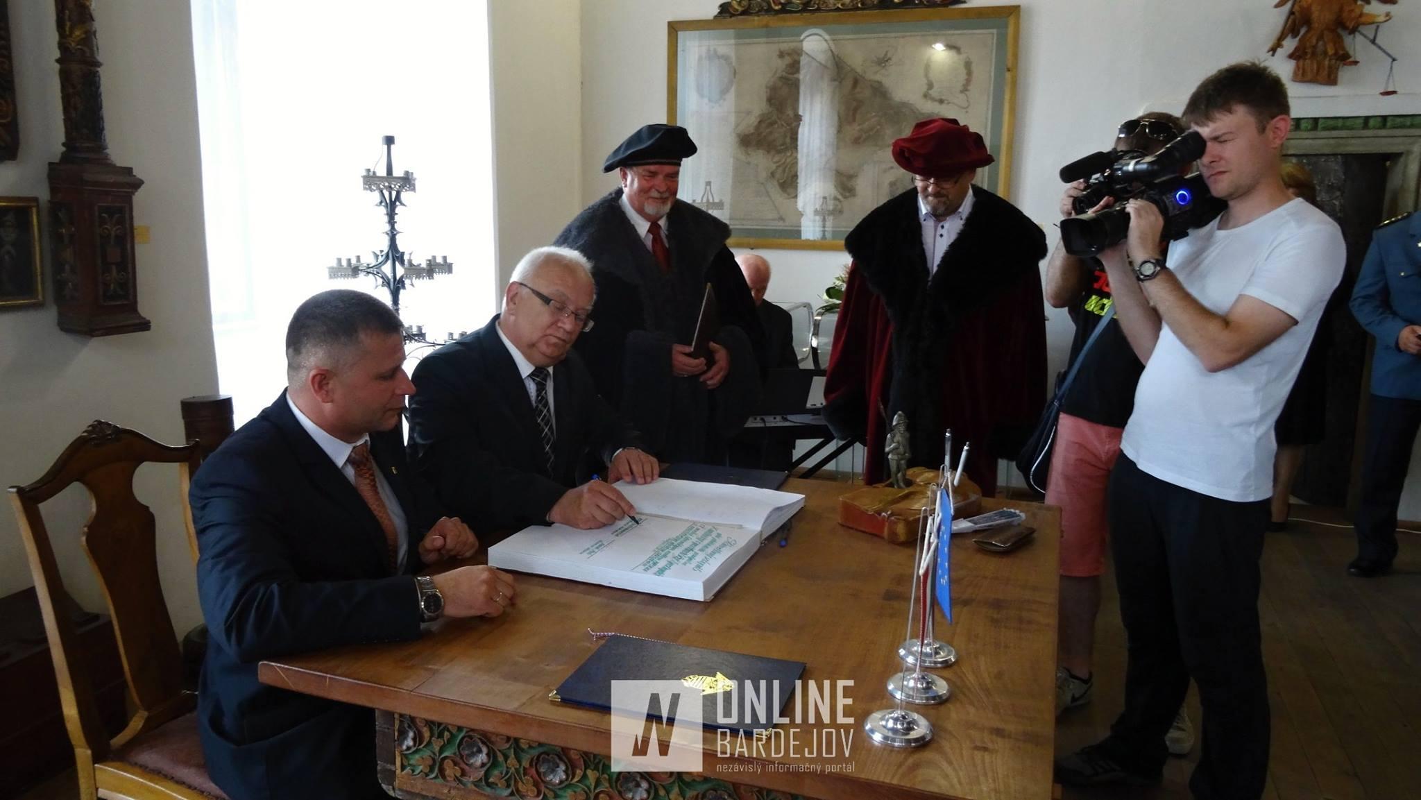 Maďarský Sárospatak je novým partnerským mestom Bardejova!