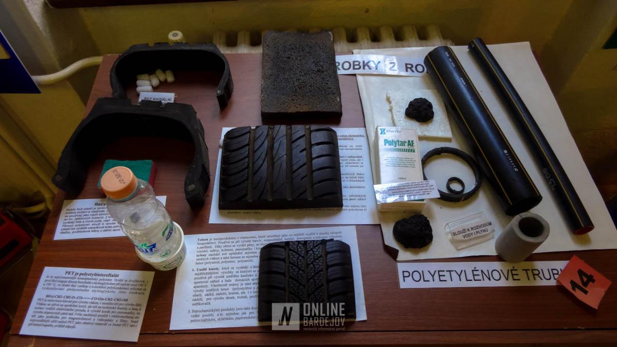 Tieto a iné výrobky, ktoré využívame sú vyrobené z ropy.