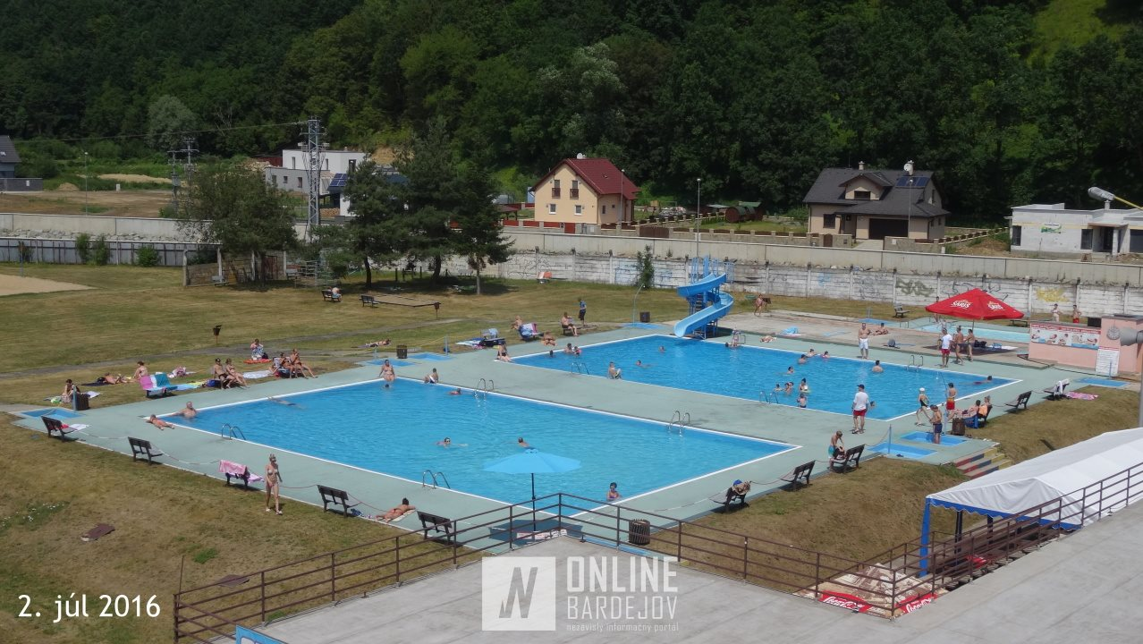 Letné kúpalisko v Bardejove otvorilo svoje brány