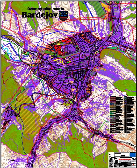 Územný plán mesta Bardejov