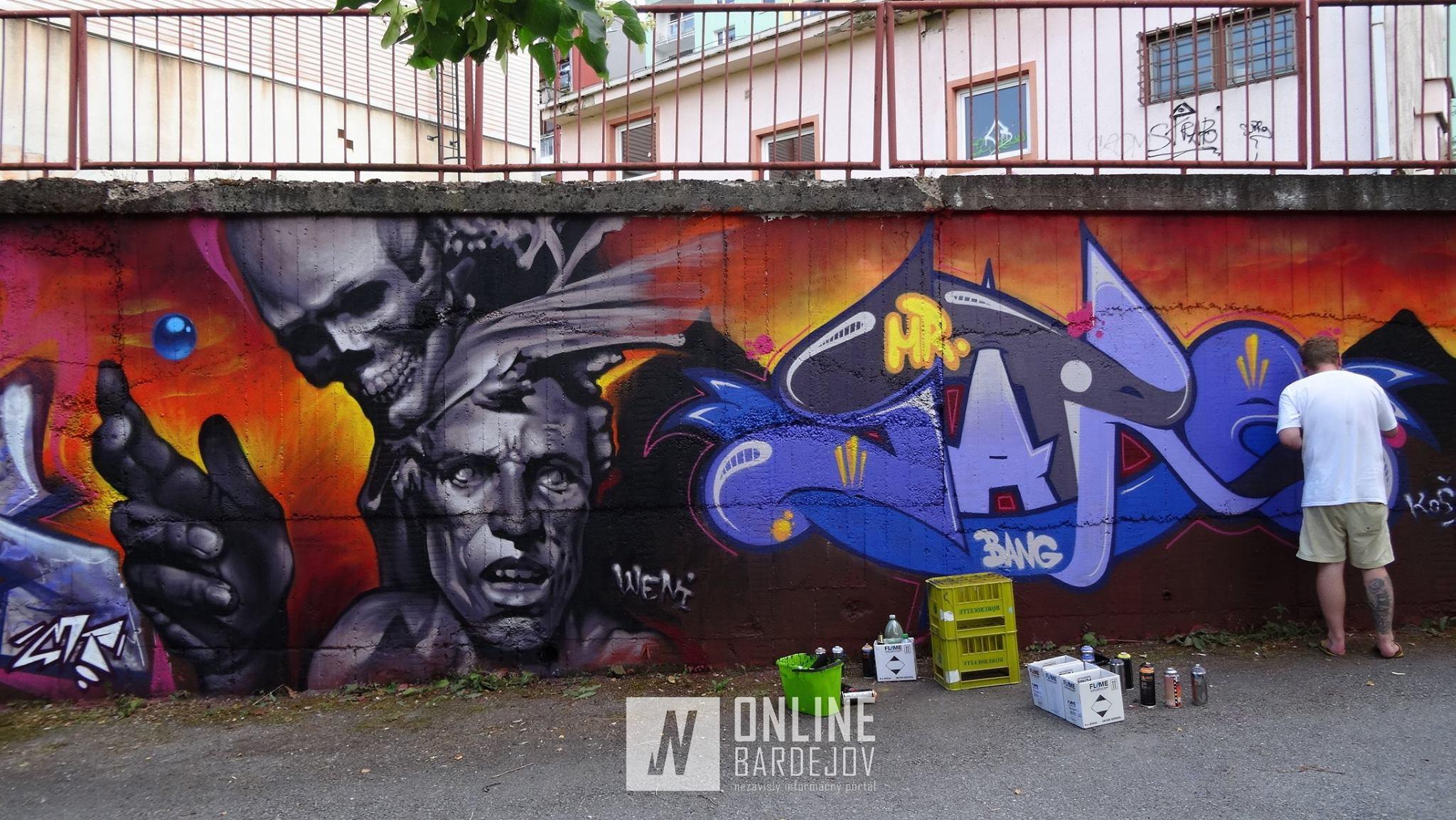 Street artové sympózium mesta Bardejov vol. 5