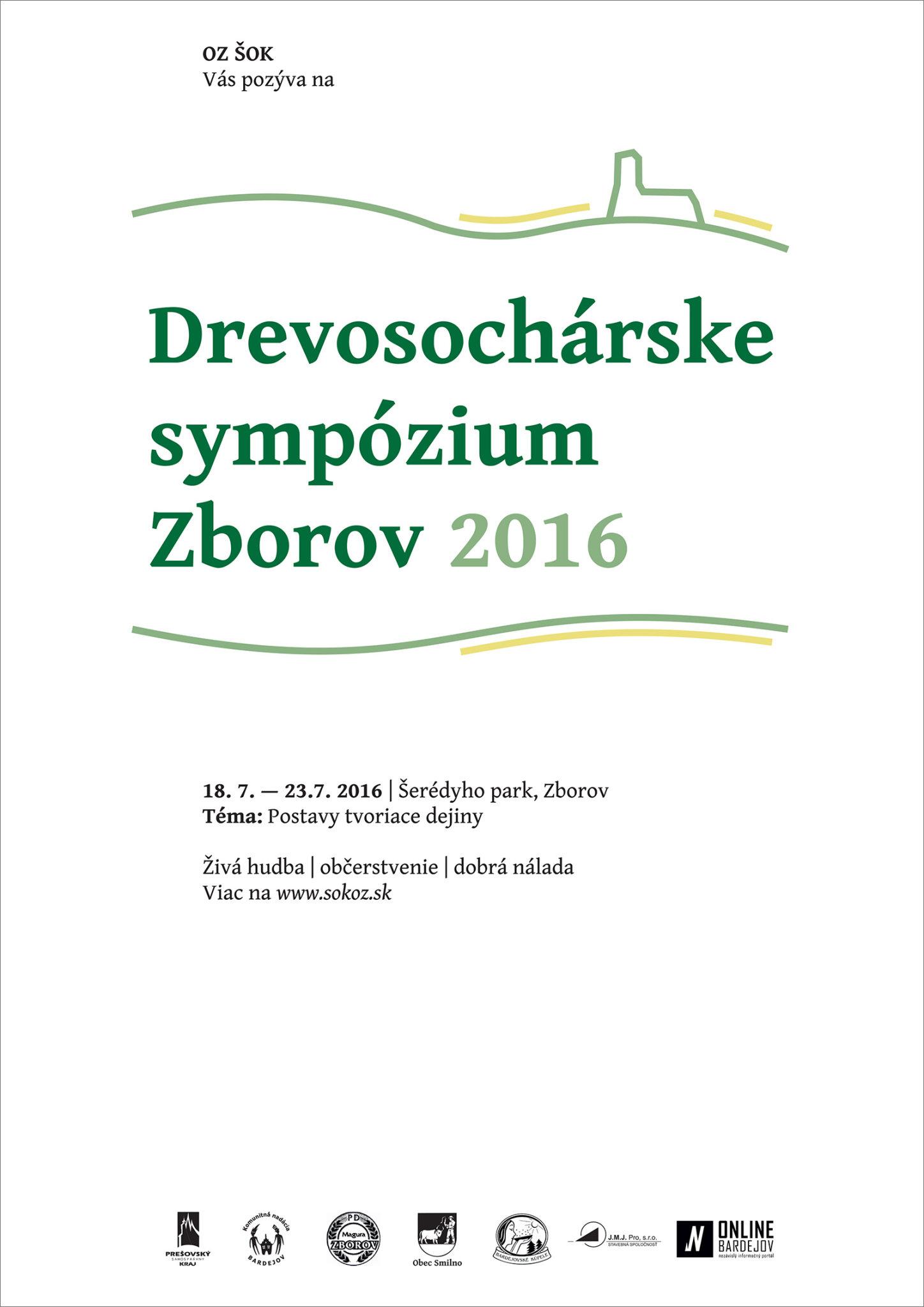 Drevosochárske sympózium Zborov 2016