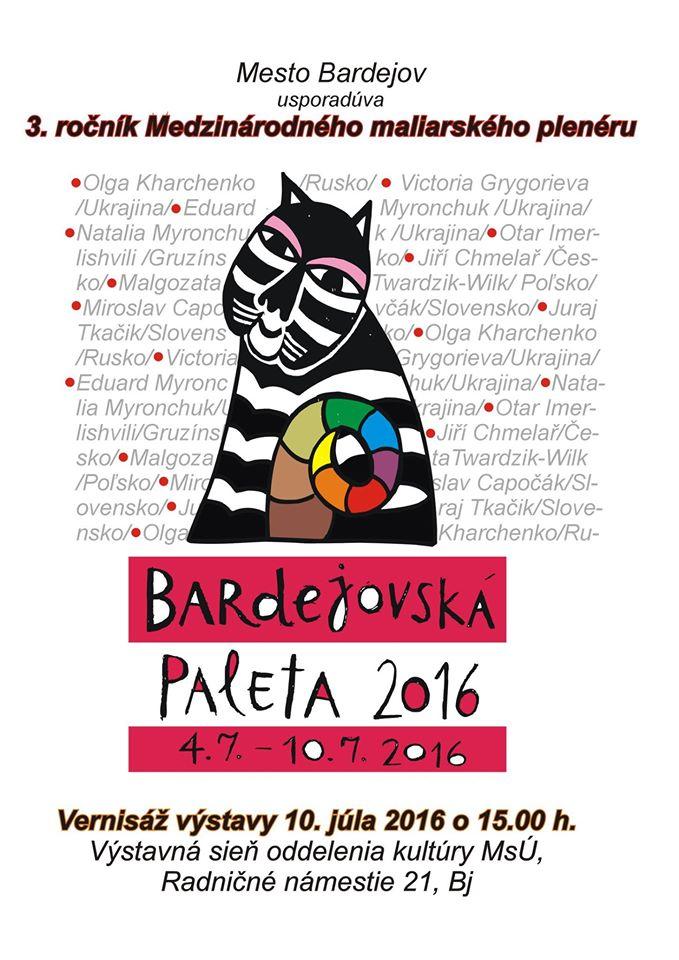 Bardejovská paleta 2016
