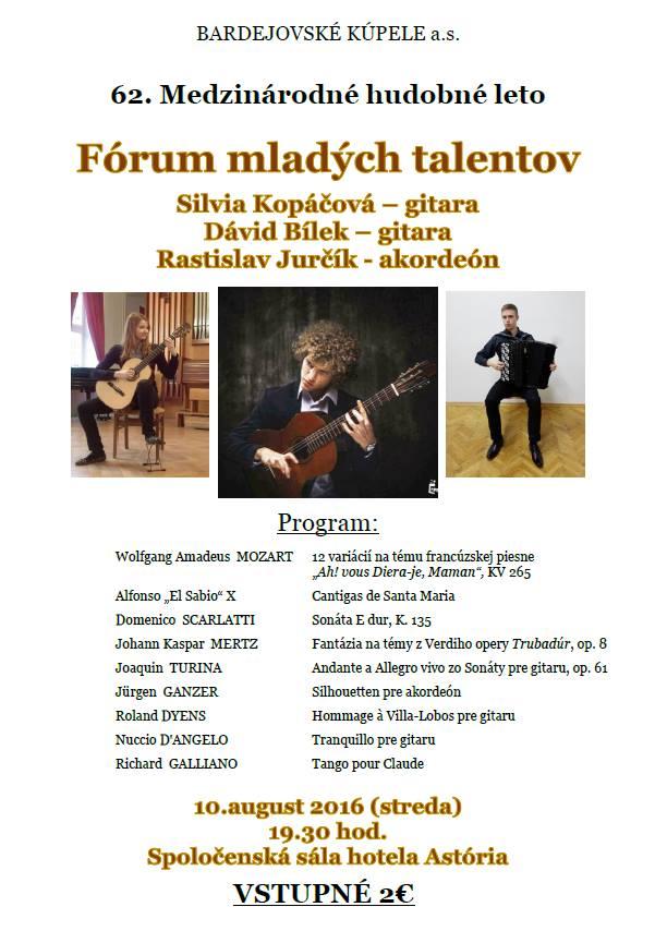 Fórum mladých talentov