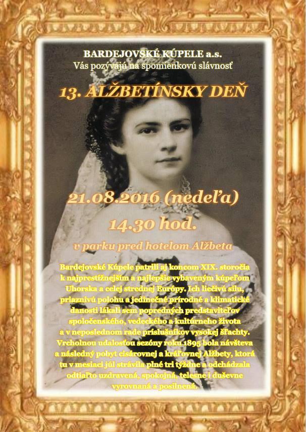 Alžbetínsky deň v Bardejovských Kúpeľoch