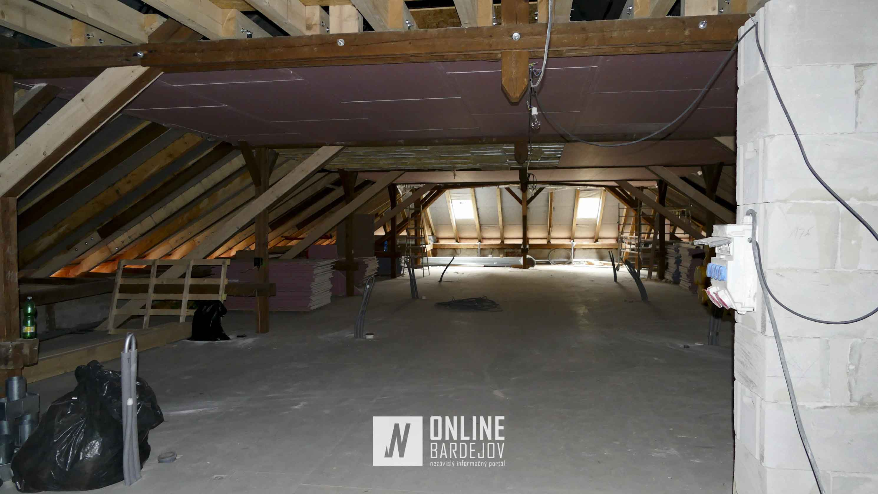 V priestore krovu vzniklo 26 nových lôžok.