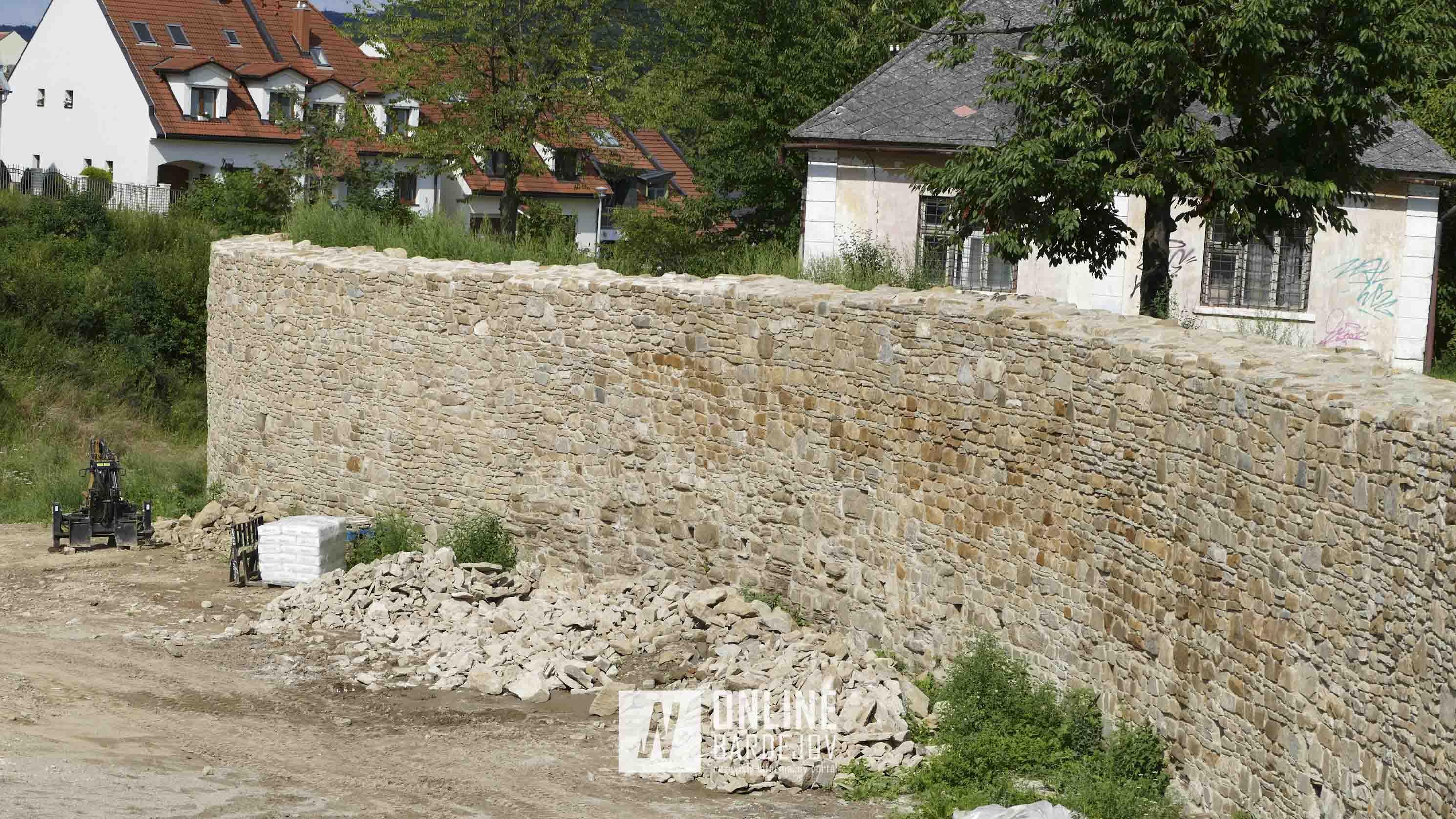 Práce na Hornom hrade