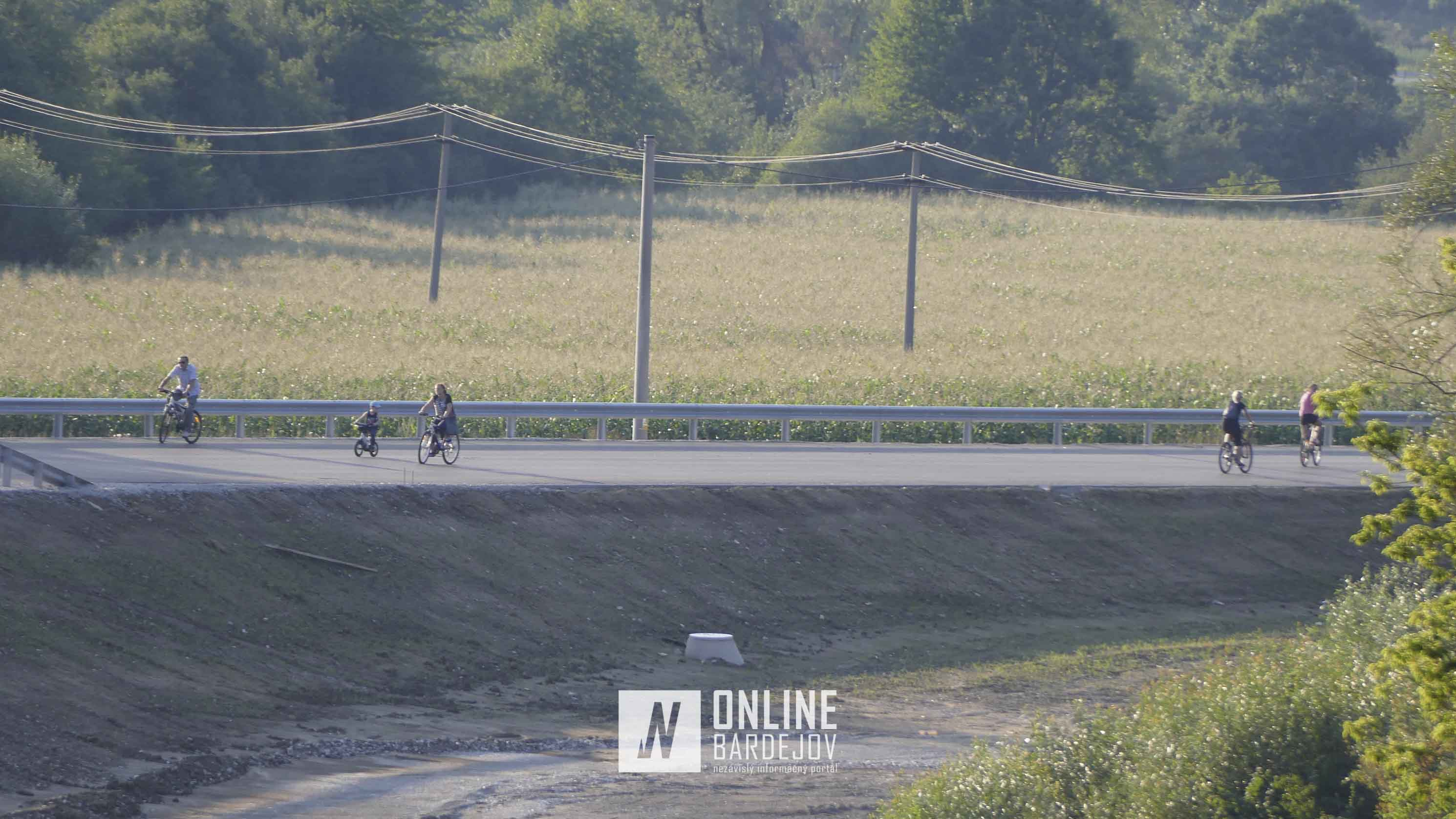 Juhozápadný obchvat mesta a cyklisti