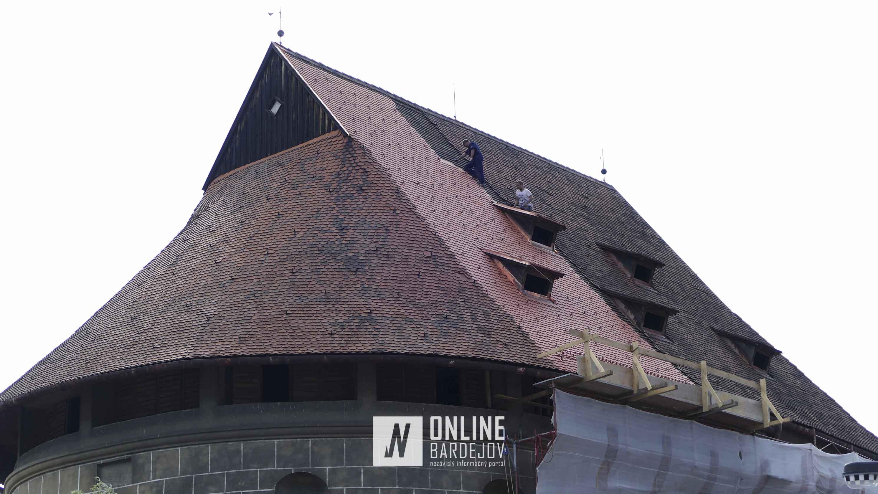 Najväčšia bašta bude mať čoskoro novú strechu
