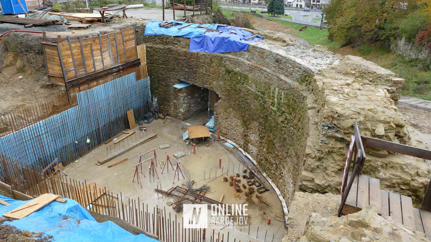 Budúci vstup do podzemnej prevádzky je už súčasťou predbránia