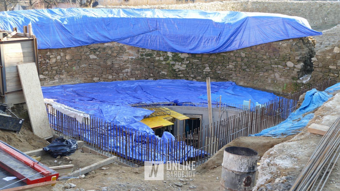 Objekt v útrobách Južnej brány bude mať čoskoro prvé nadzemné podlažie