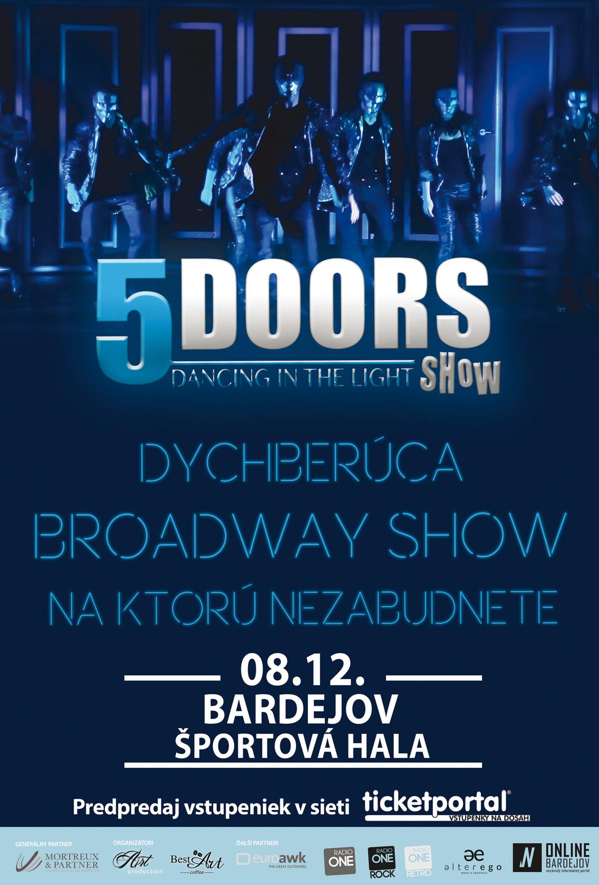 Päť dverí, jedna nezabudnuteľná show!