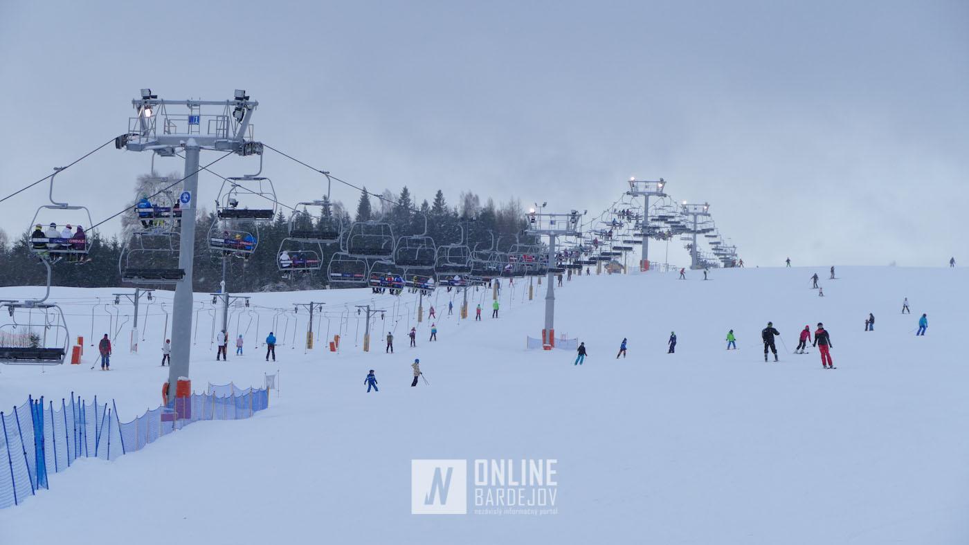Tilicz lyžiarske stredisko Master Sky