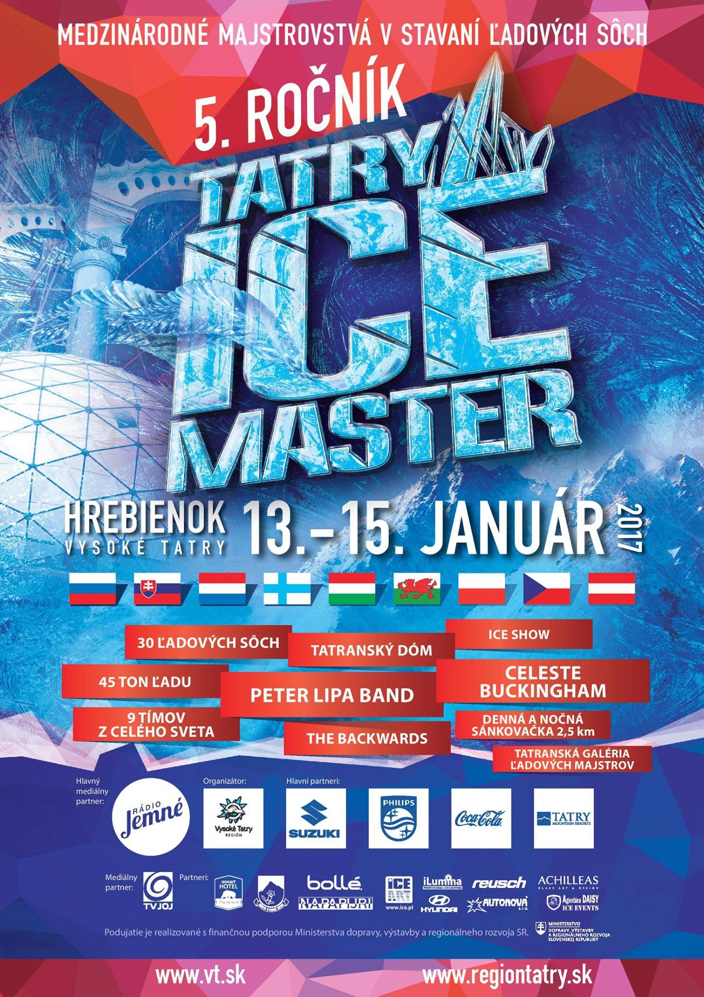 TIP NA VÝLET: TATRY ICE MASTER medzinárodné majstrovstvá v stavaní ľadových sôch