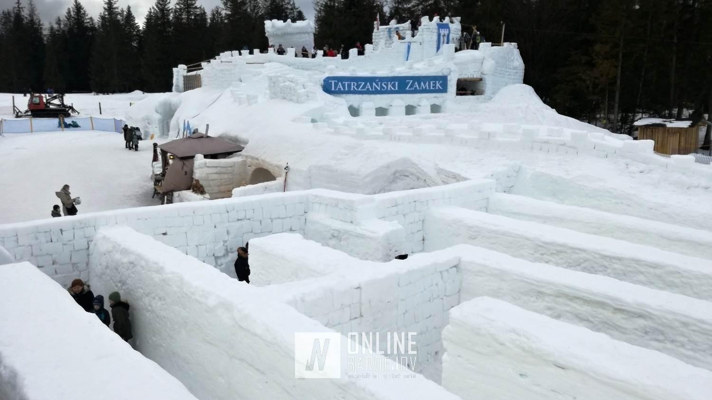 TIP NA VÝLET: Snehový labyrint a Tatranský zámok v Zakopanom