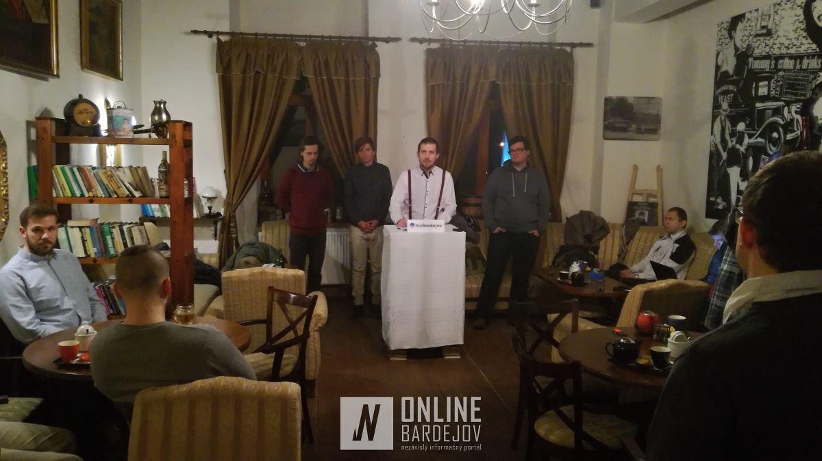Mestský poslanec a aktivista Milan Pilip predstavil novovzniknutú platformu pred nadchádzajúcimi komunálnymi voľbami 2018