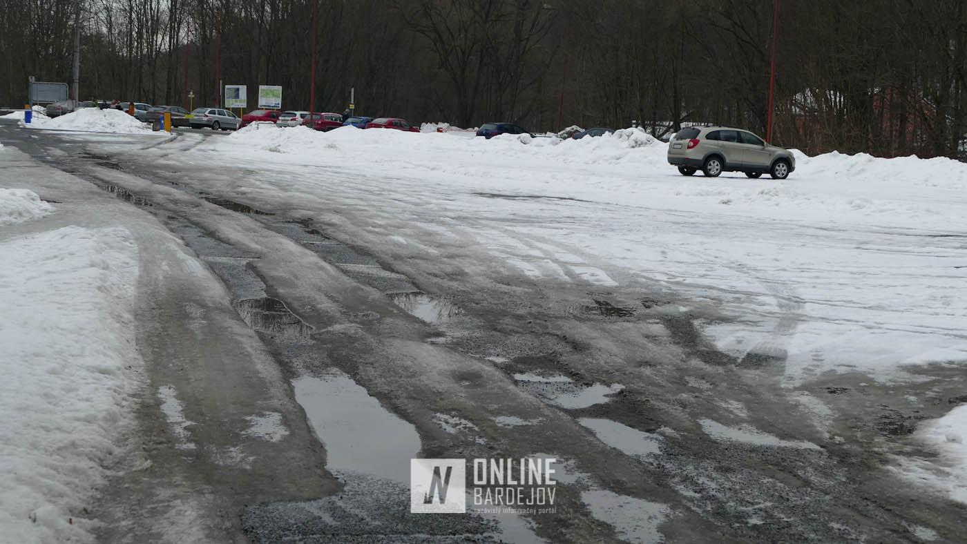 Parkovanie v kúpeľoch neposkytuje požadovaný komfort, zimná údržba je často zanedbaná