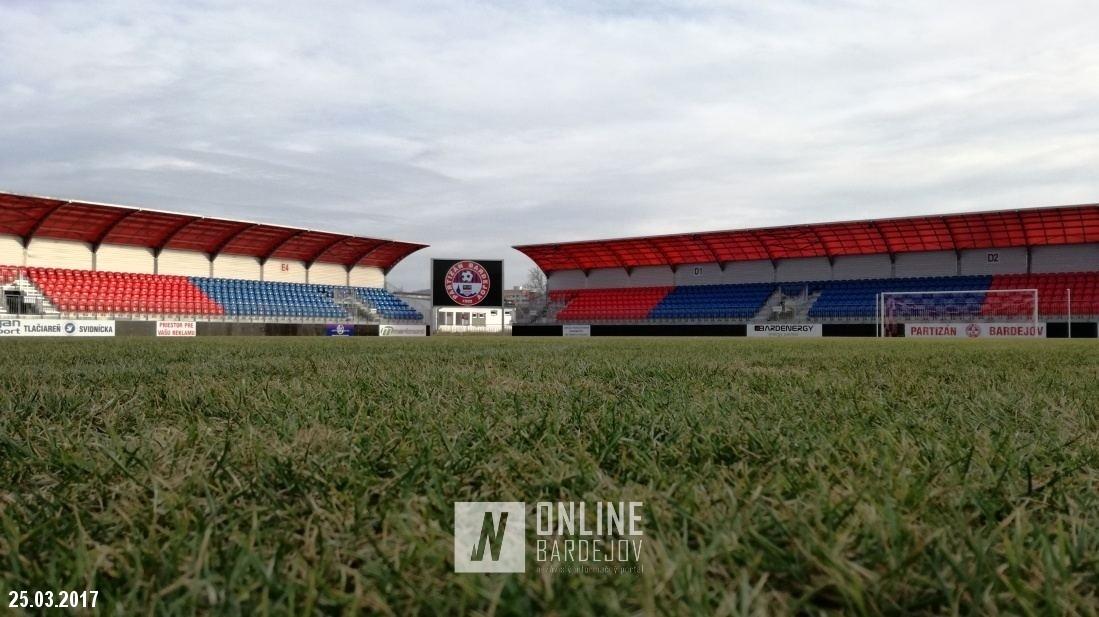 Bardejovský futbalový štadión má novú podobu