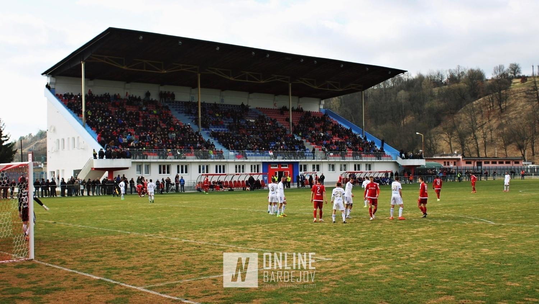 FOTO: Partizán Bardejov odohral prvý zápas na vynovenom štadióne