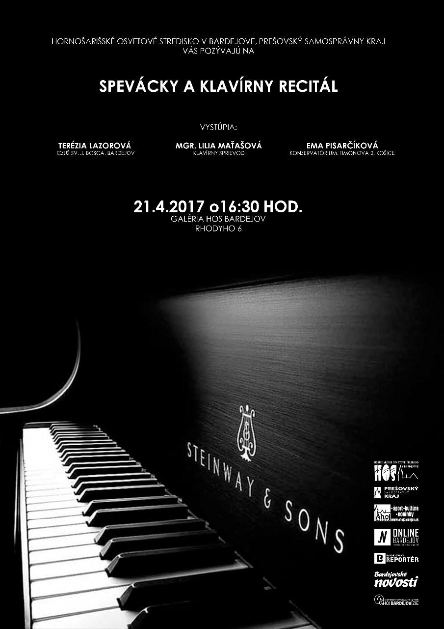 Spevácky a klavírny recitál