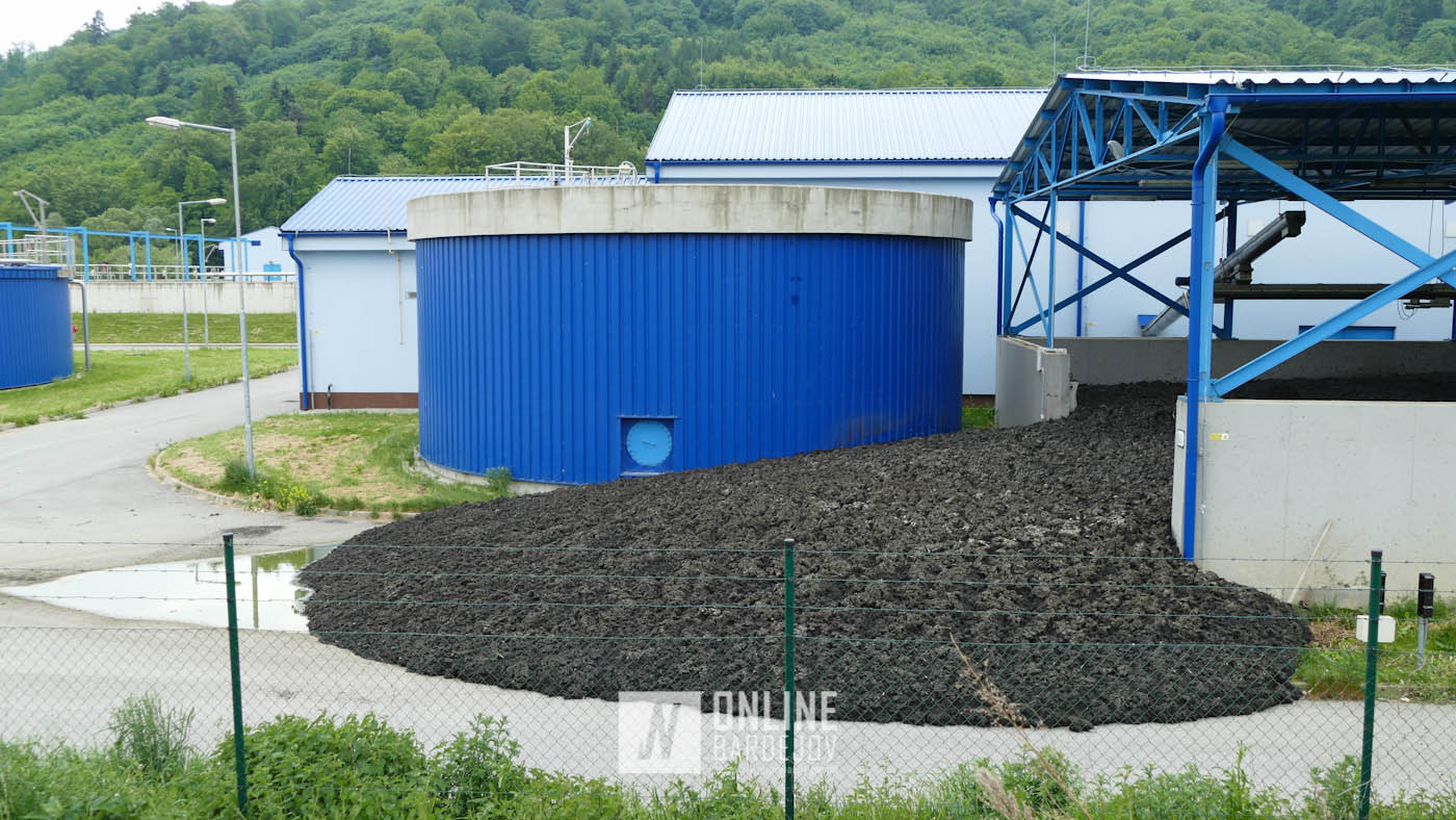 V čističke odpadových vôd prekvapila obrovská kopa kalu
