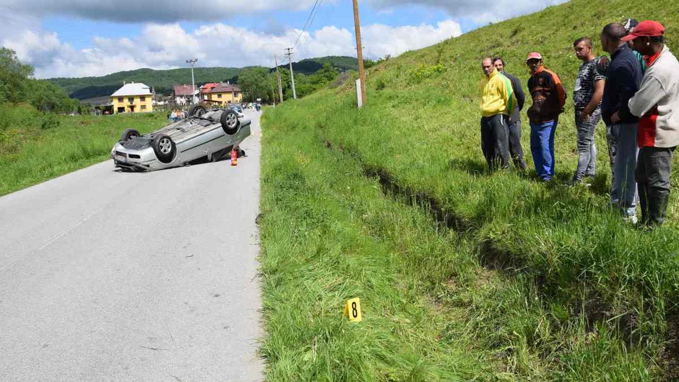 Ján havaroval v deň svojich 18. narodenín. Automobil úplne zdemoloval!