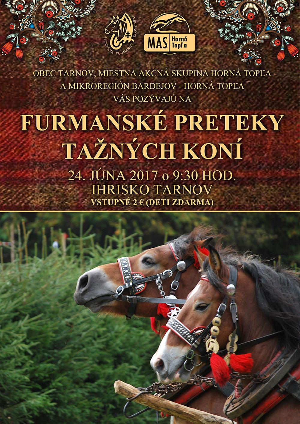 Furmarské preteky ťažných koní v Tarnove