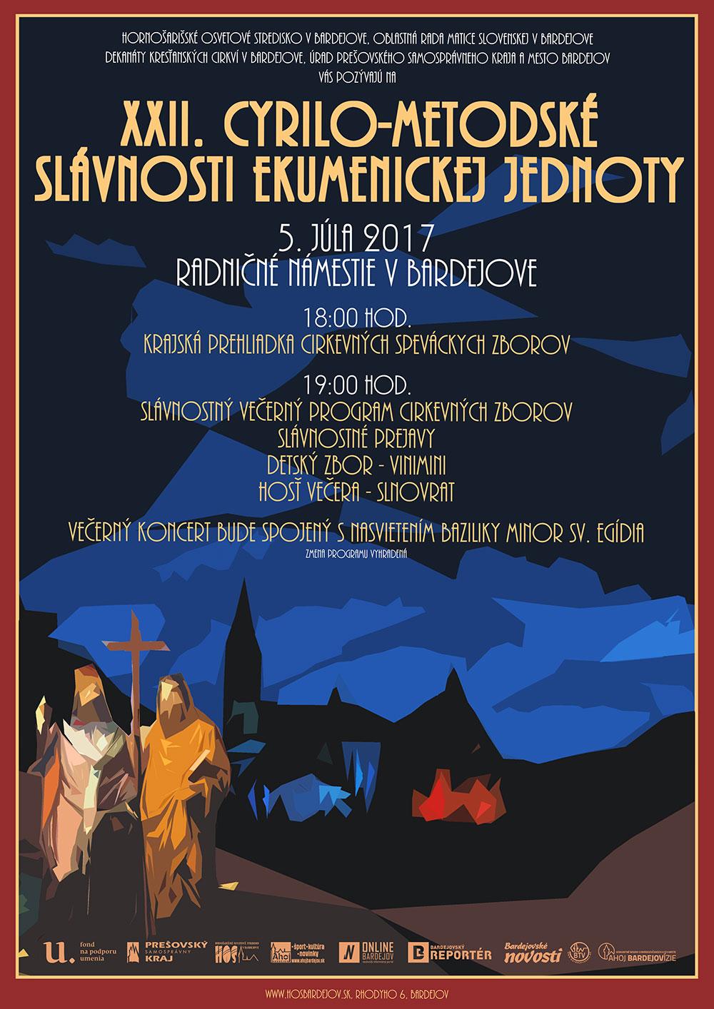 XXII. Cyrilo-metodské slávnosti ekumenickej jednoty