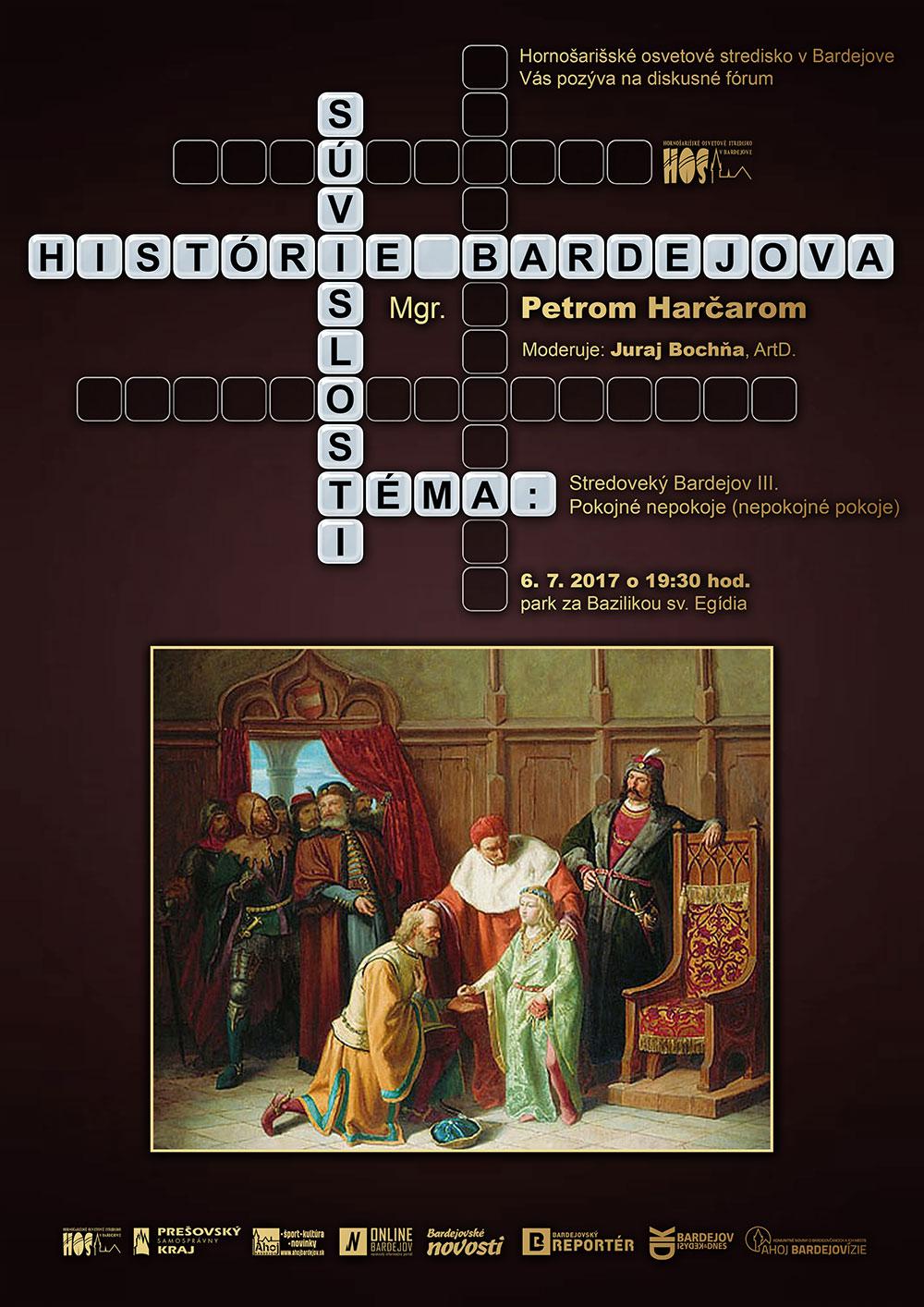 Súvislosti histórie Bardejova – Stredoveký Bardejov III, Pokojné nepokoje (nepokojné pokoje)