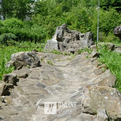 Bardejovské Kúpele-fontány