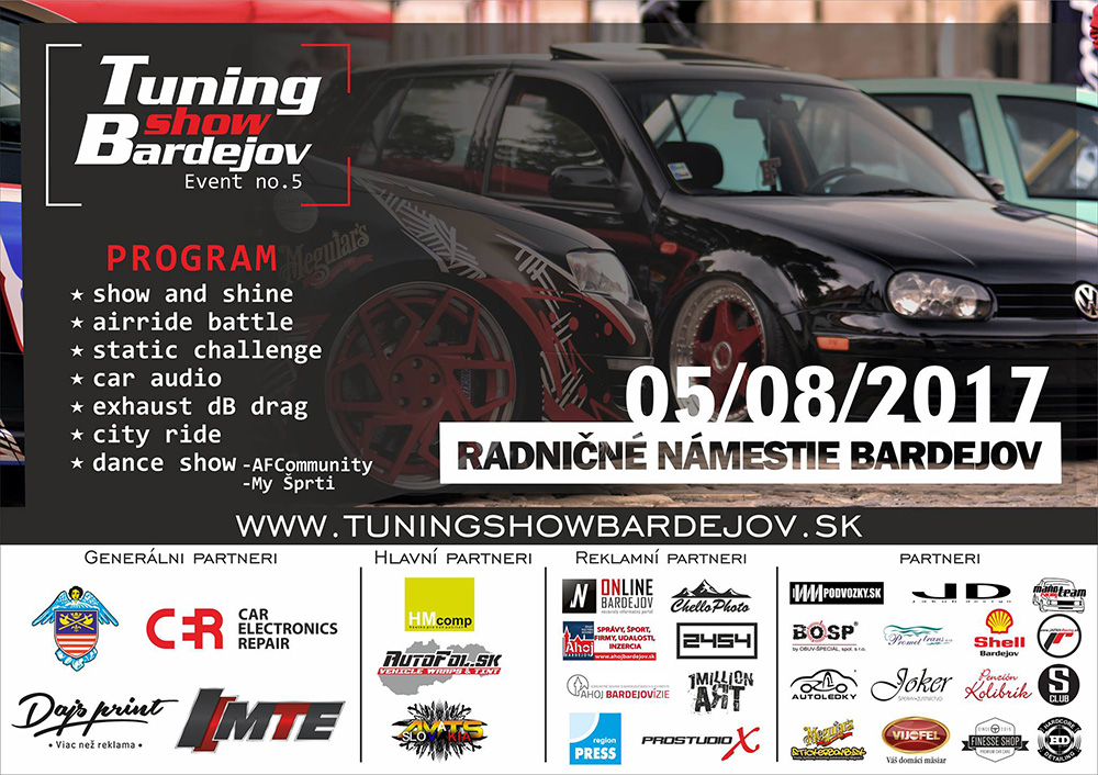 Tuning show Bardejov / Event no.5