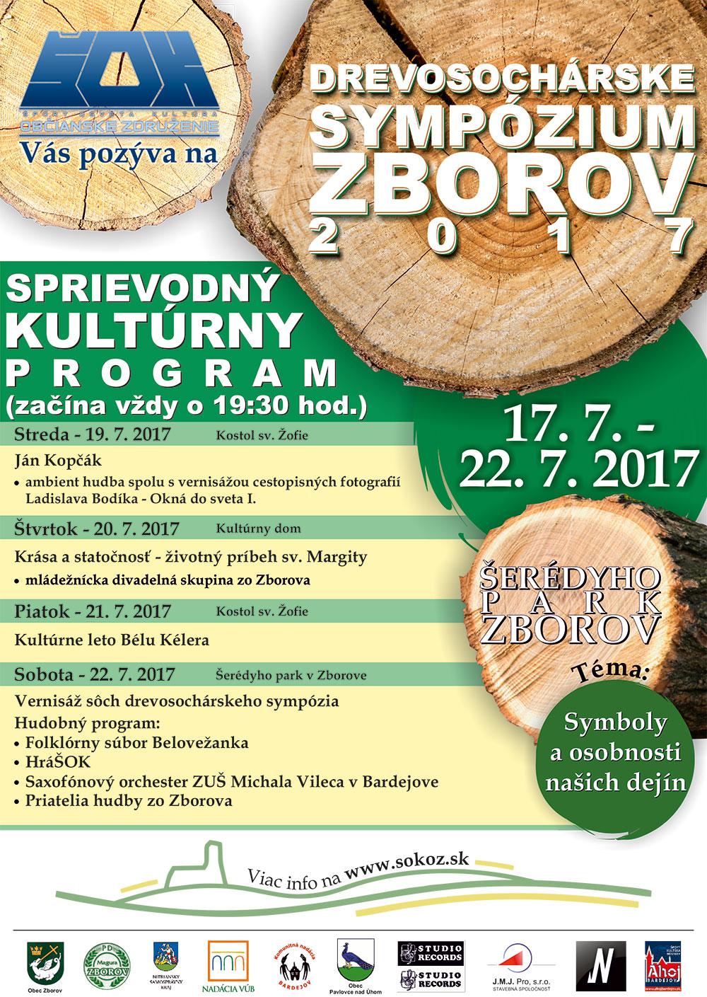 Drevosochárske sympózium Zborov 2017