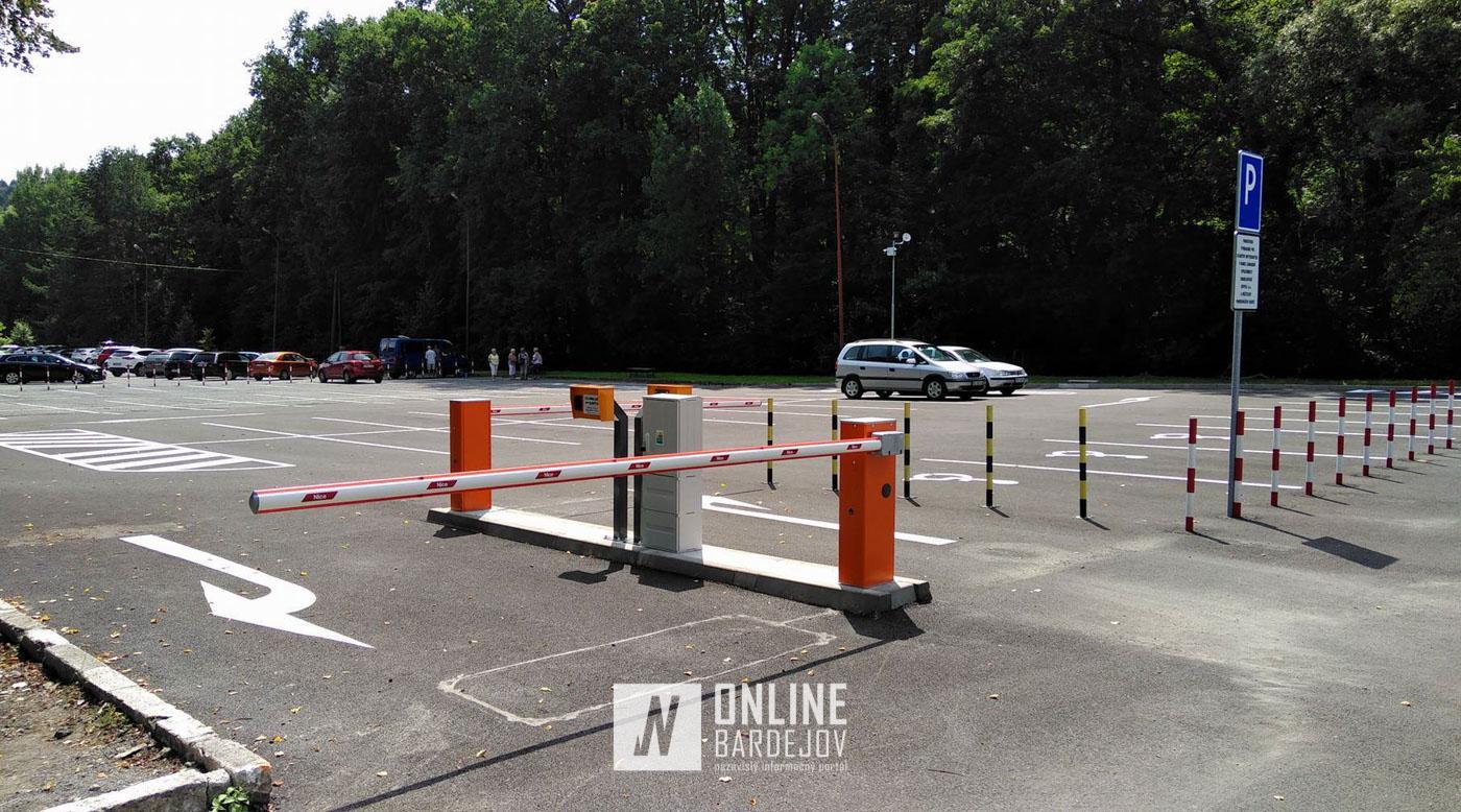 Nové parkovisko pre klientov kúpeľov už v prevádzke