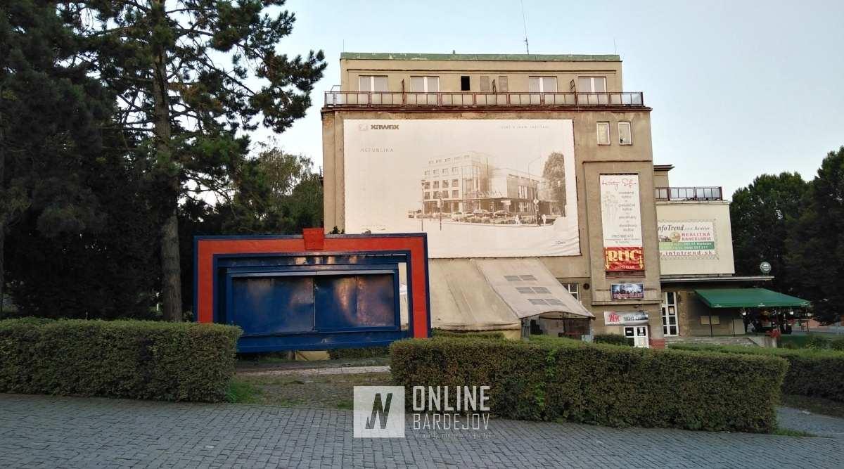 Náprava! Obnova info panela v centre mesta sa blíži ku koncu.