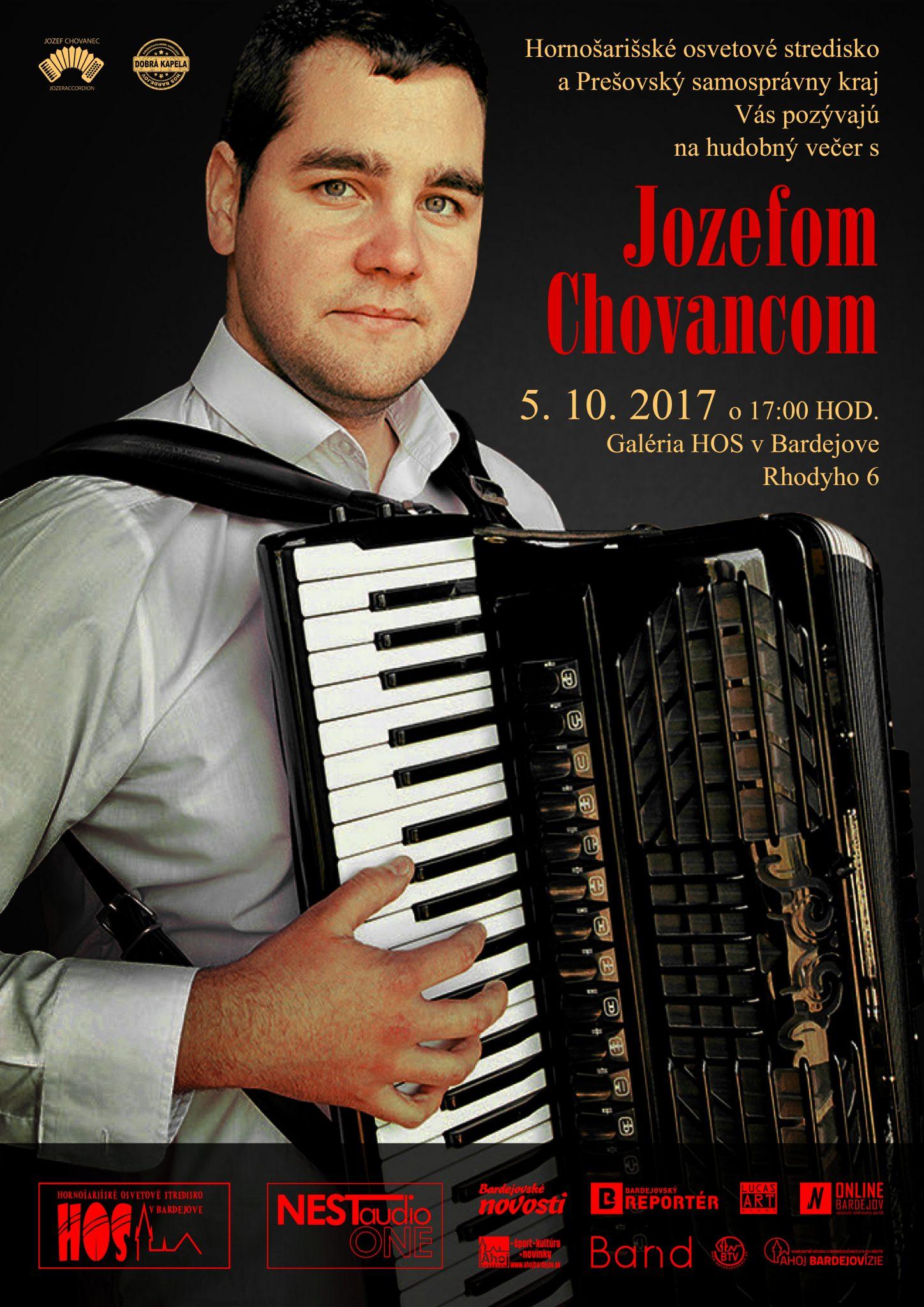 Hudobný večer s Jozefom Chovancom