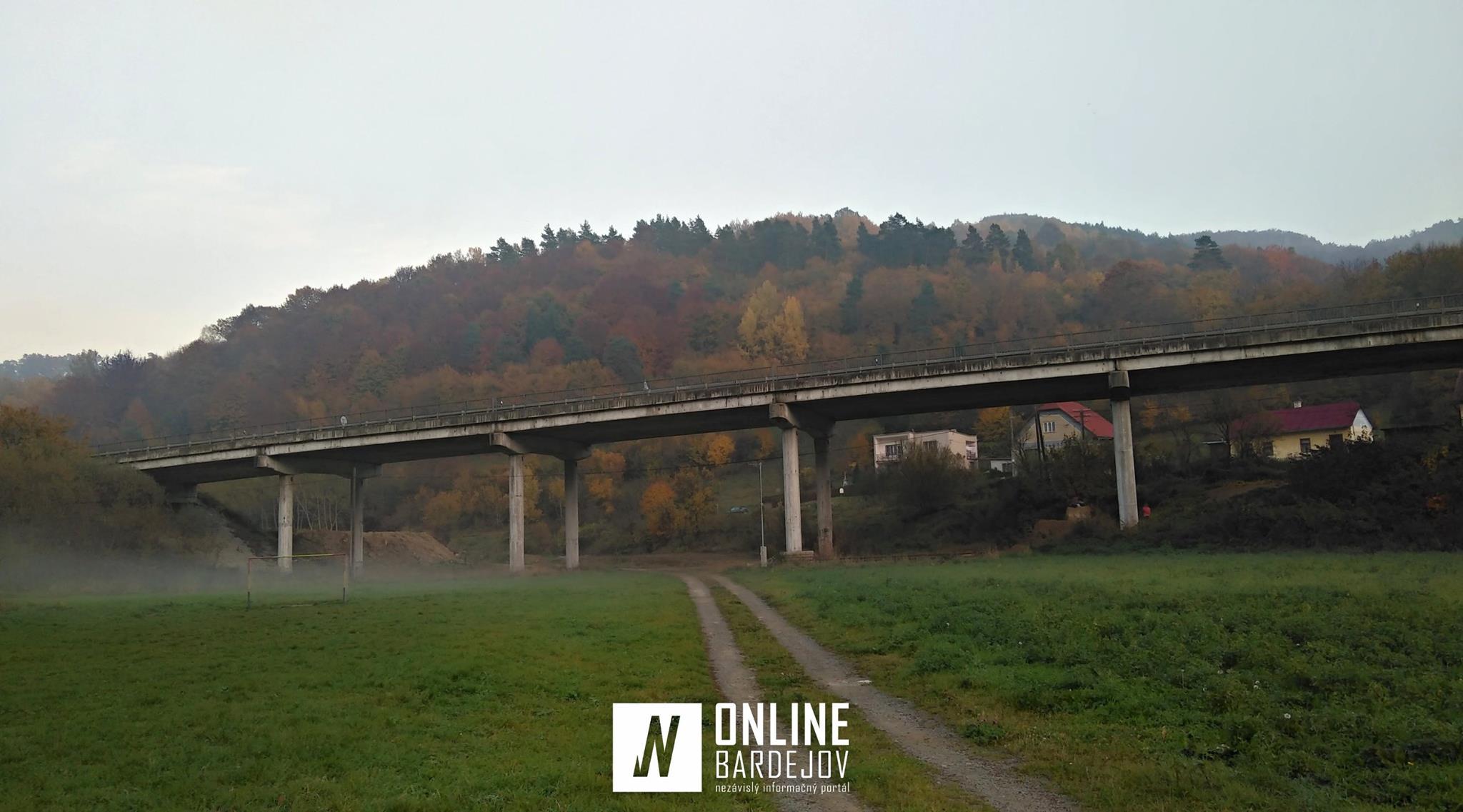 Rekonštrukcia cesty II. triedy – vstup do Bardejova