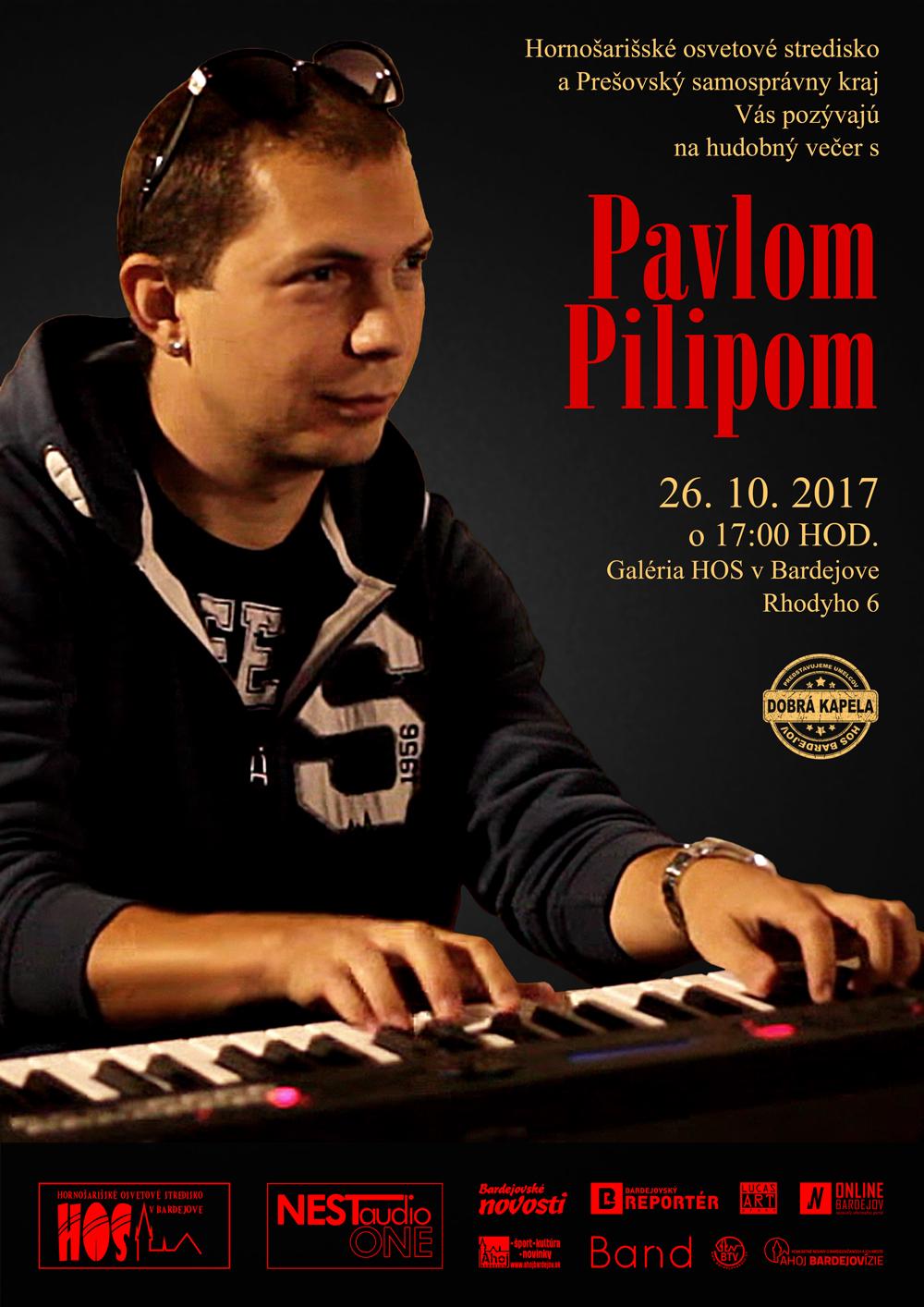 Hudobný večer s Pavlom Pilipom