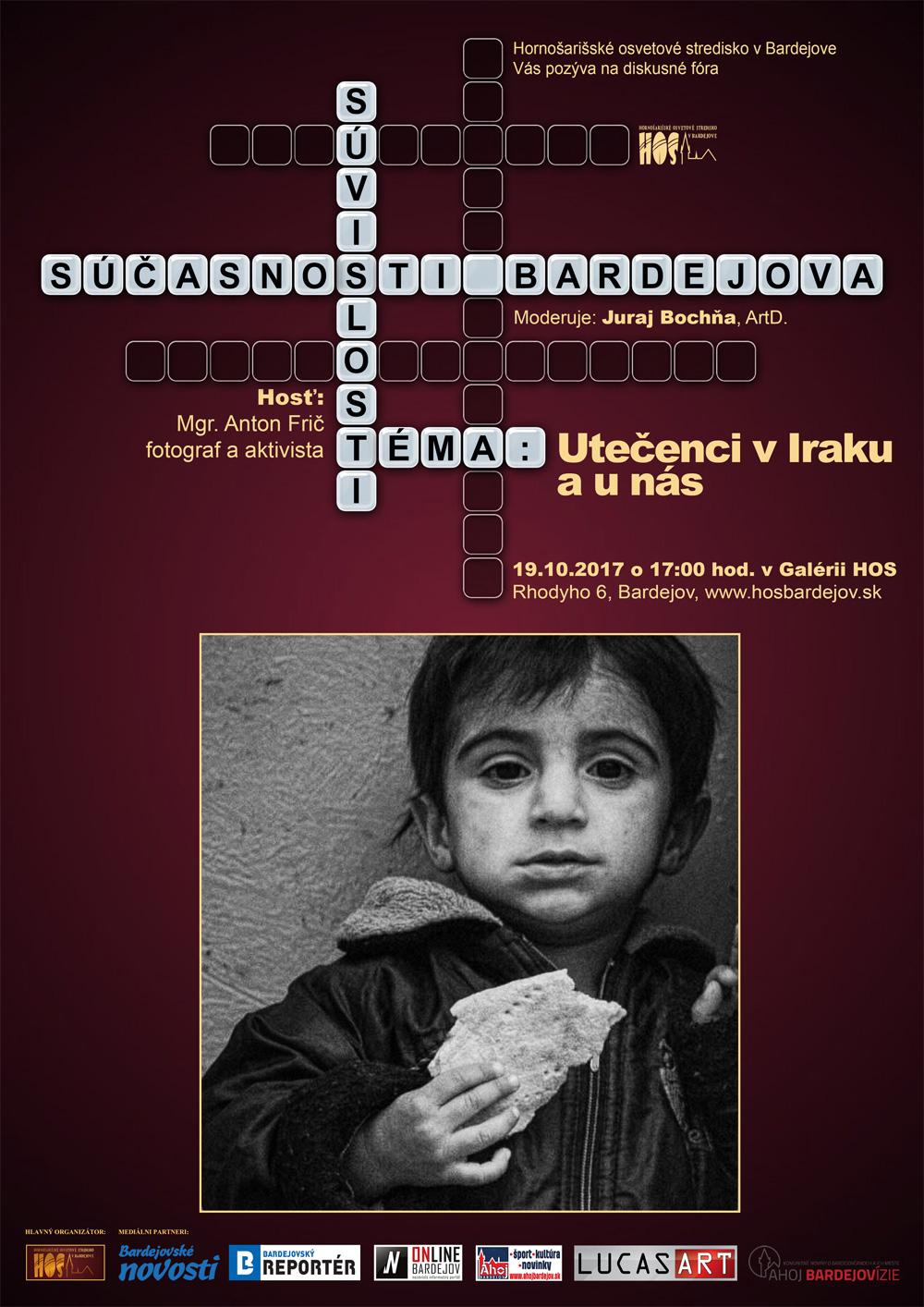 Súvislosti súčasnosti Bardejova – Utečenci v Iraku a u nás