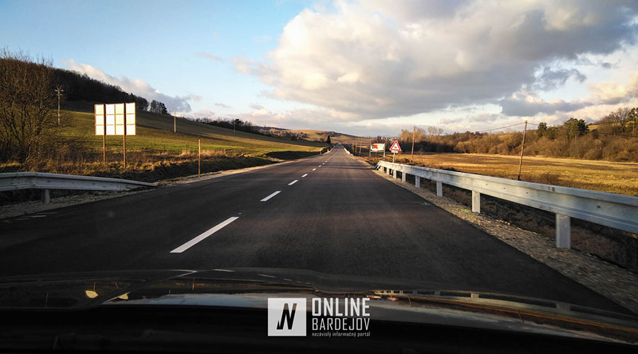 Frekventovaný úsek Raslavice – Janovce stihli otvoriť pred príchodom zimy!  Motoristi si vydýchli.