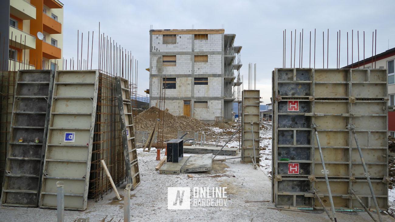 Obytná zástavba v Bardejovských Kúpeľoch rastie rýchlym tempom