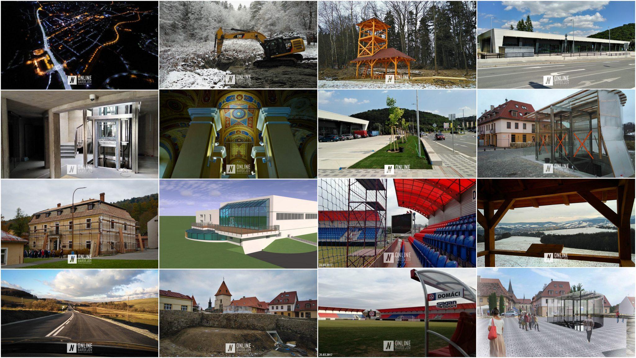 Vyberáme top 10 projektov zrealizovaných v roku 2017