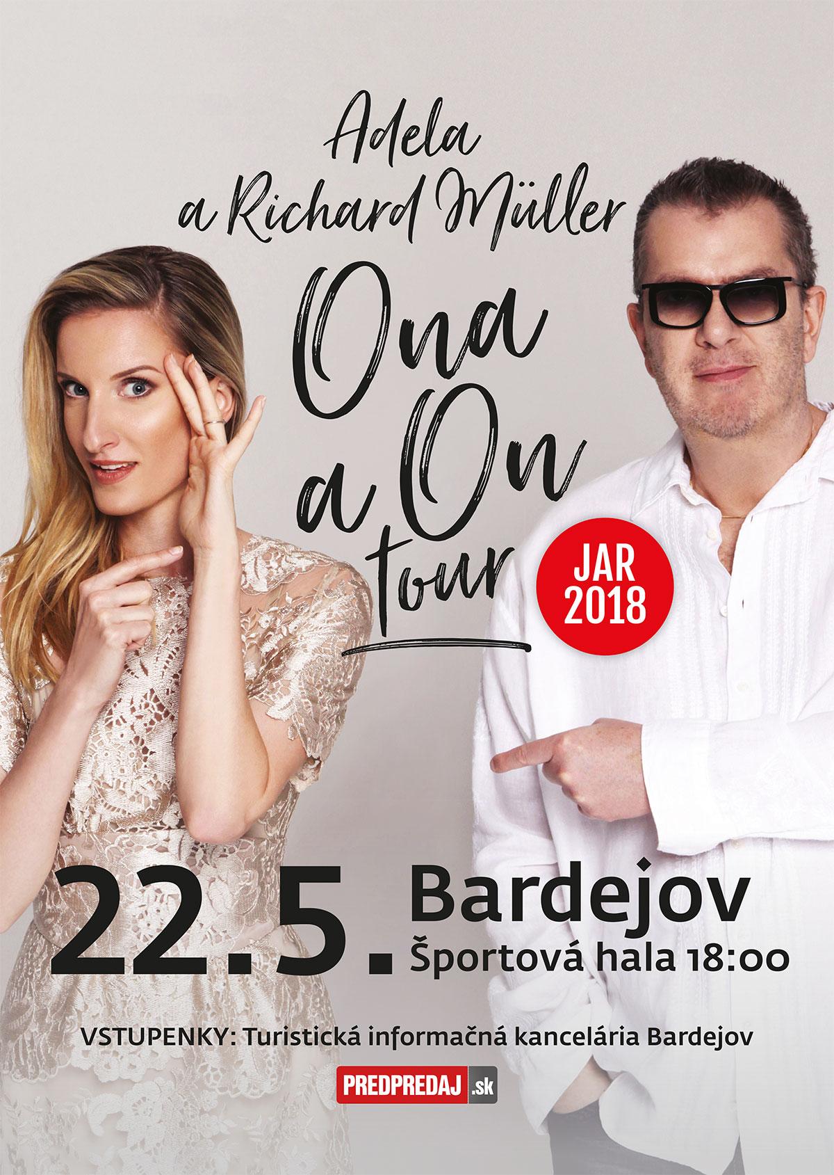 """O """"ONA a ON TOUR"""" je aj tento rok veľký záujem, Martin a Piešťany sú už kompletne vypredané!"""