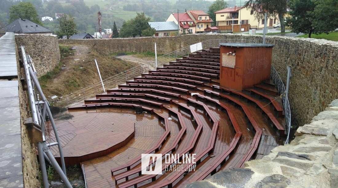 Posledné roky je amfiteáter mimo prevádzku a chátra.